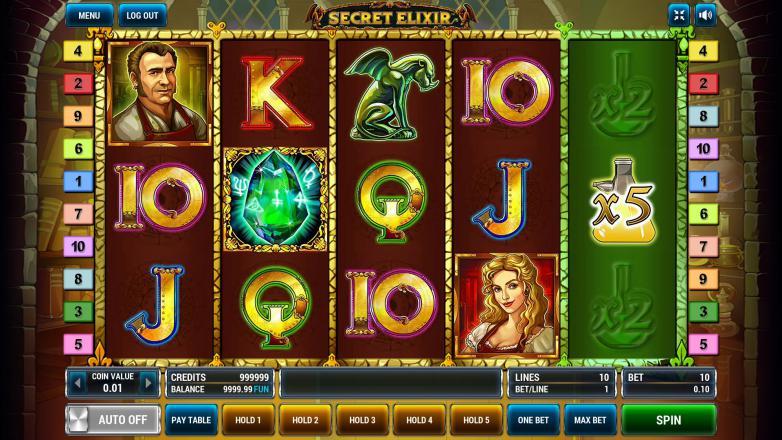 Изображение игрового автомата Secret Elixir 1