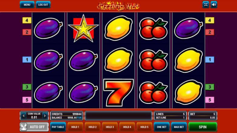 Изображение игрового автомата Sizzling Hot 2