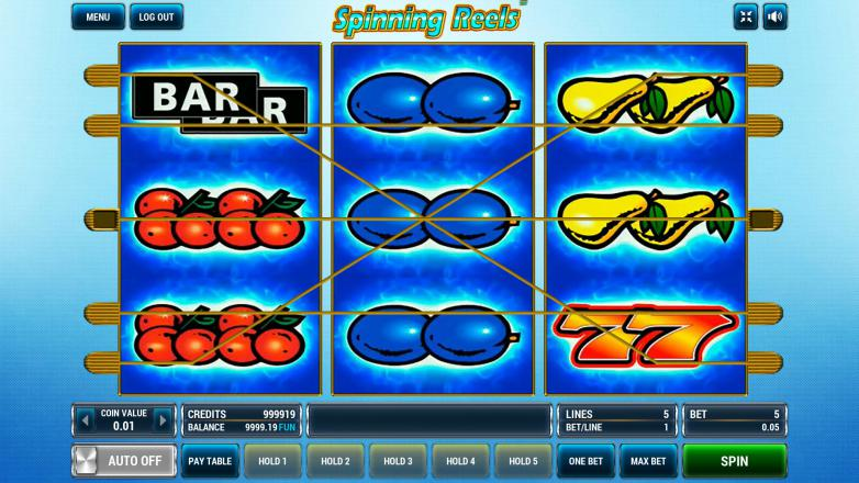 Изображение игрового автомата Spinning Reels 1