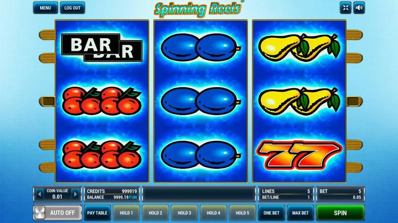 Изображение игрового автомата Spinning Reels 2