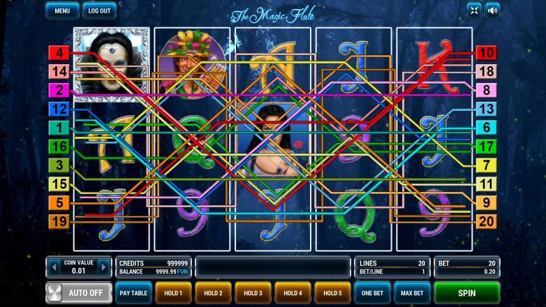 Изображение игрового автомата The Magic Flute 1
