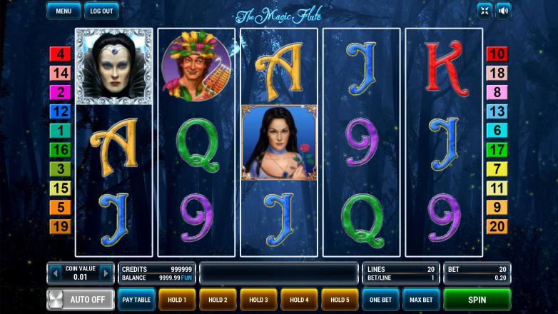 Изображение игрового автомата The Magic Flute 2