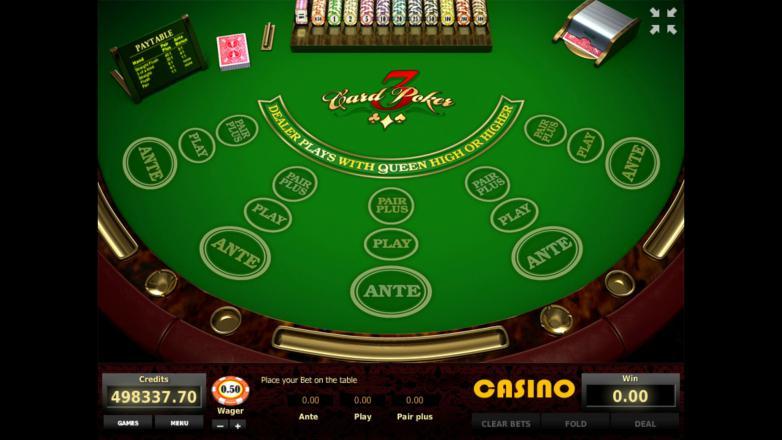6 card poker игровой автомат