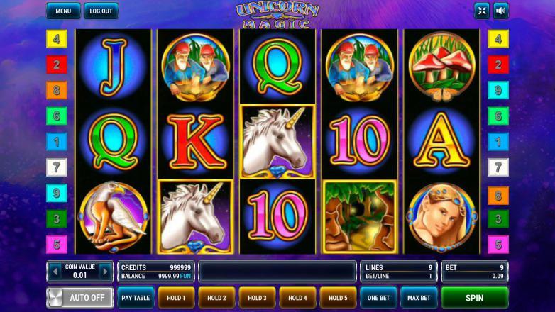 Изображение игрового автомата Unicorn Magic 2