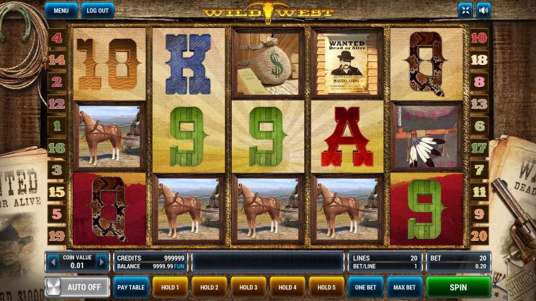 Изображение игрового автомата Wild West 2