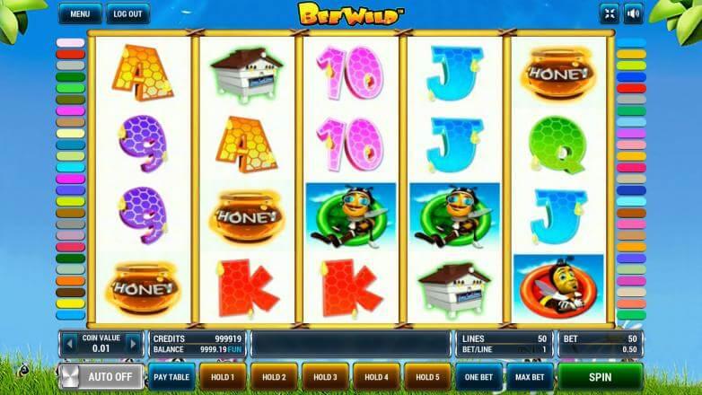Изображение игрового автомата Bee Wild 2