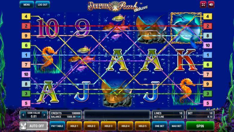 Изображение игрового автомата Dolphin's Pearl Deluxe 1
