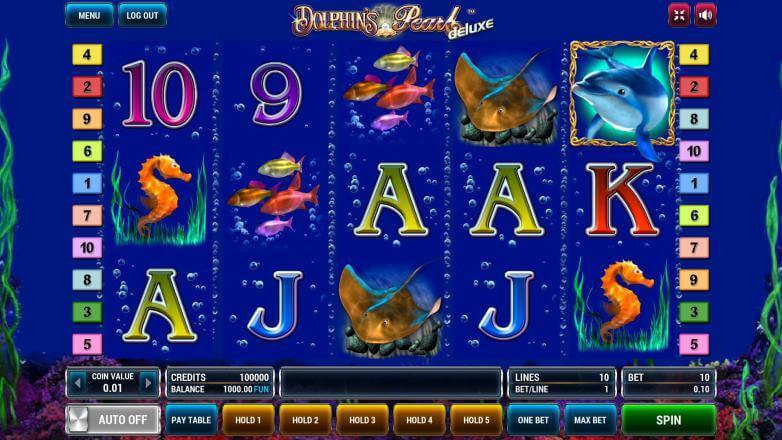 Изображение игрового автомата Dolphin's Pearl Deluxe 2