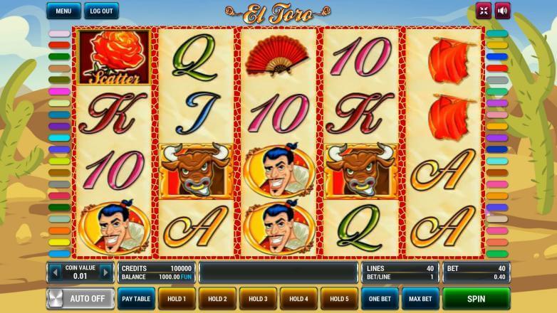 Изображение игрового автомата El Toro 2