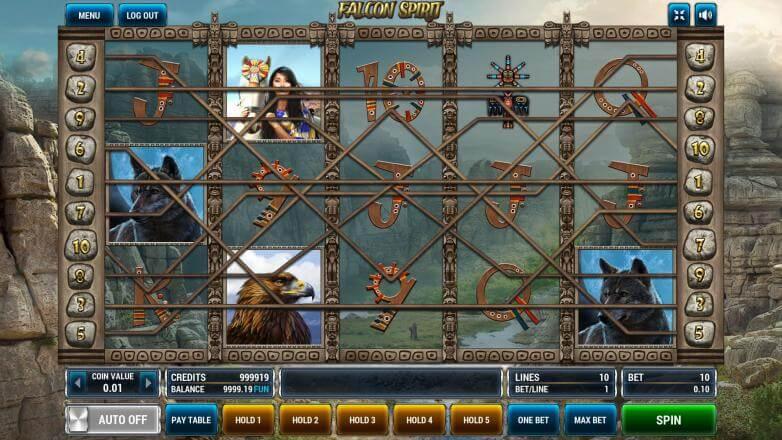 Изображение игрового автомата Falcon Spirit 1