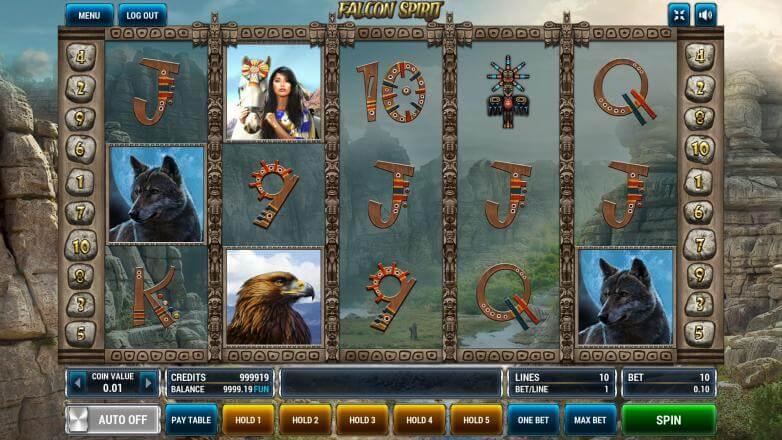 Изображение игрового автомата Falcon Spirit 2