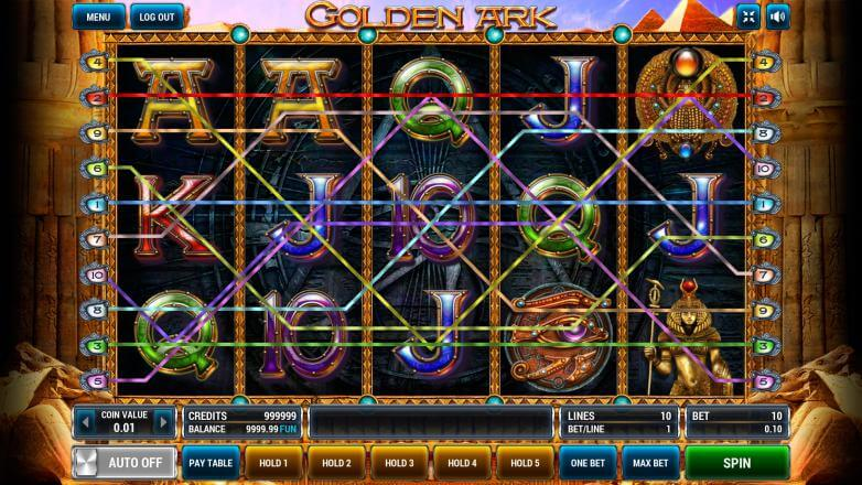 Изображение игрового автомата Golden Ark 1