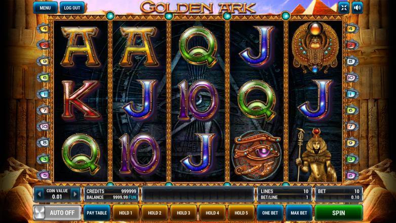 Изображение игрового автомата Golden Ark 2