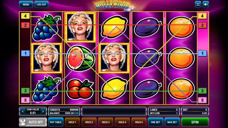 Изображение игрового автомата Hollywood Star 1