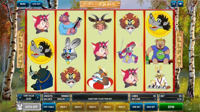 Изображение игрового автомата Lucky Wolf 1