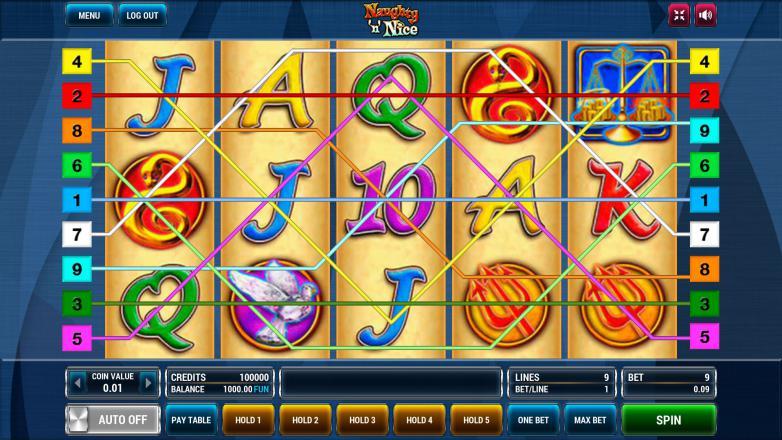 Изображение игрового автомата Naughty 'n' Nice 1