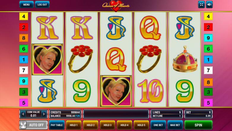 queen of hearts опис ігрового автомата