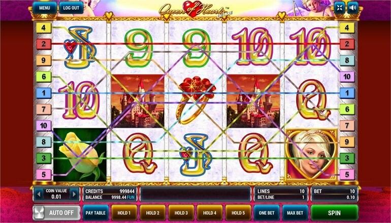 Изображение игрового автомата Queen of Hearts Deluxe 1