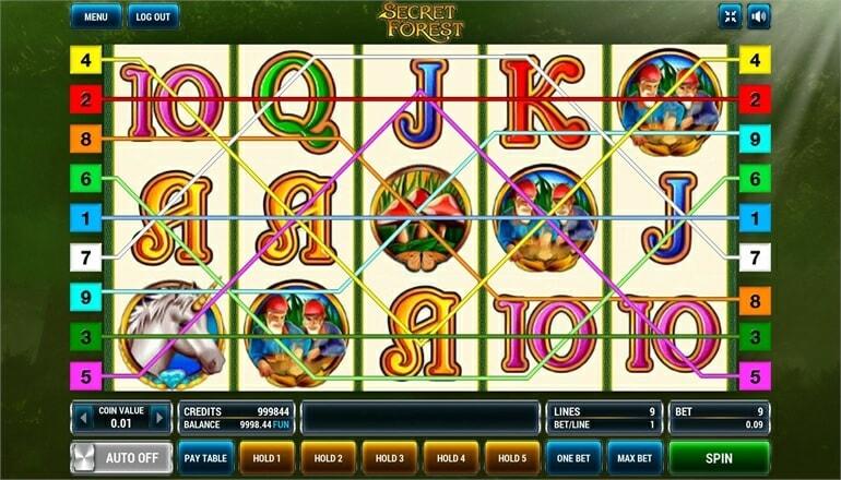 Изображение игрового автомата Secret Forest 1
