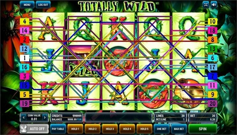 Изображение игрового автомата Totally Wild 1