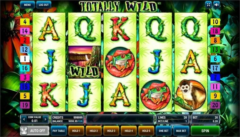 Изображение игрового автомата Totally Wild 2