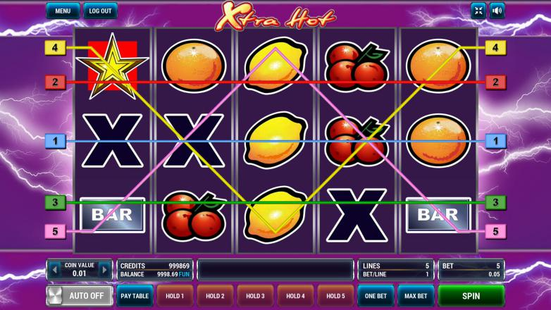 Изображение игрового автомата Xtra Hot 1