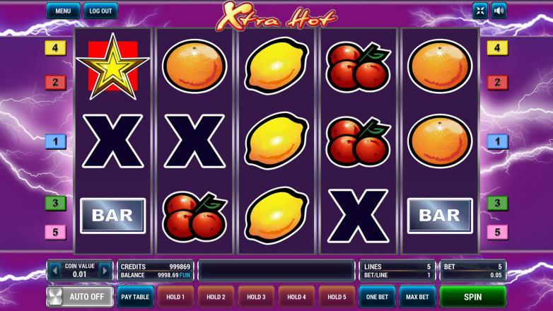 Изображение игрового автомата Xtra Hot 2