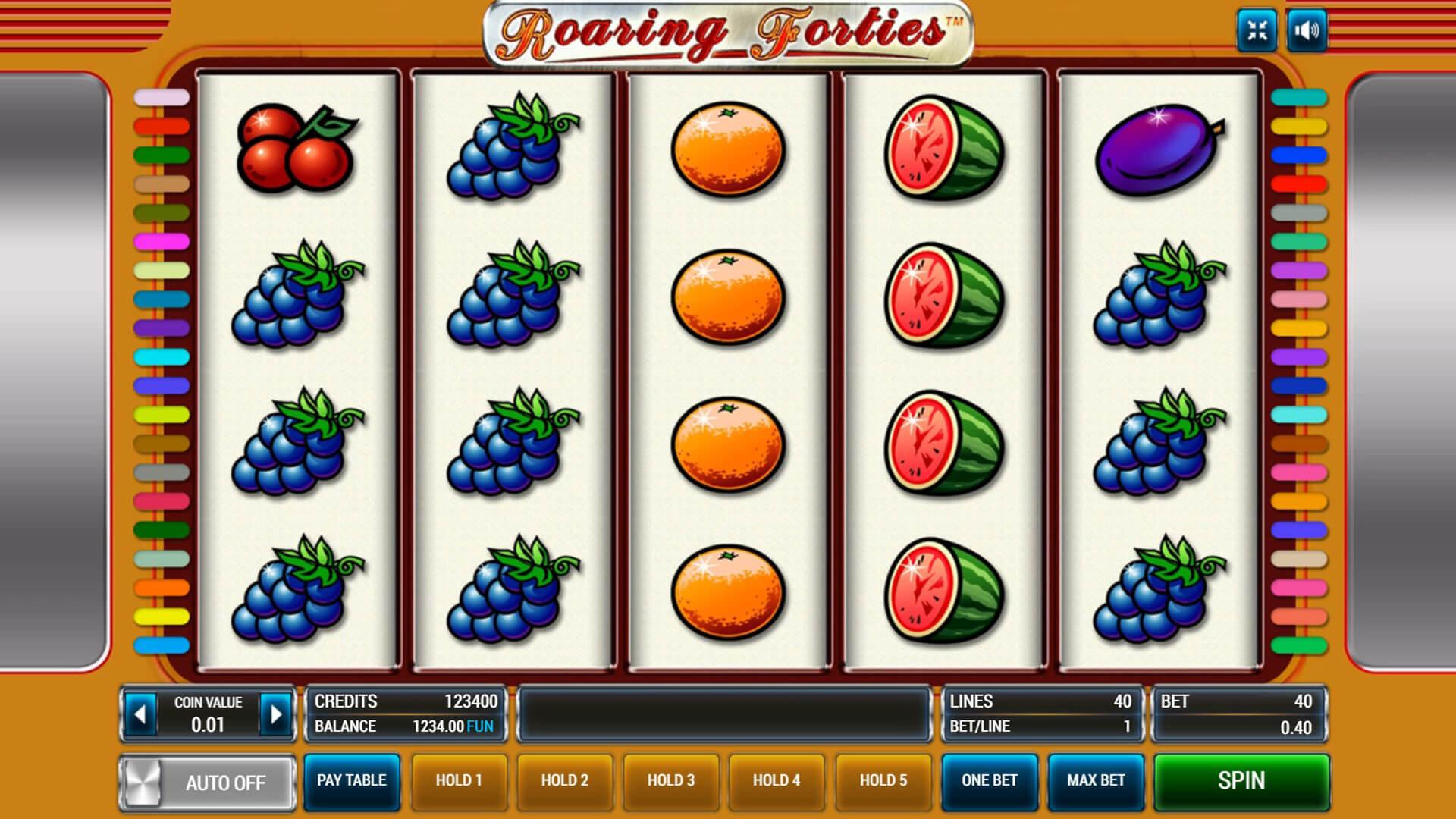Изображение игрового автомата Roaring Forties 1