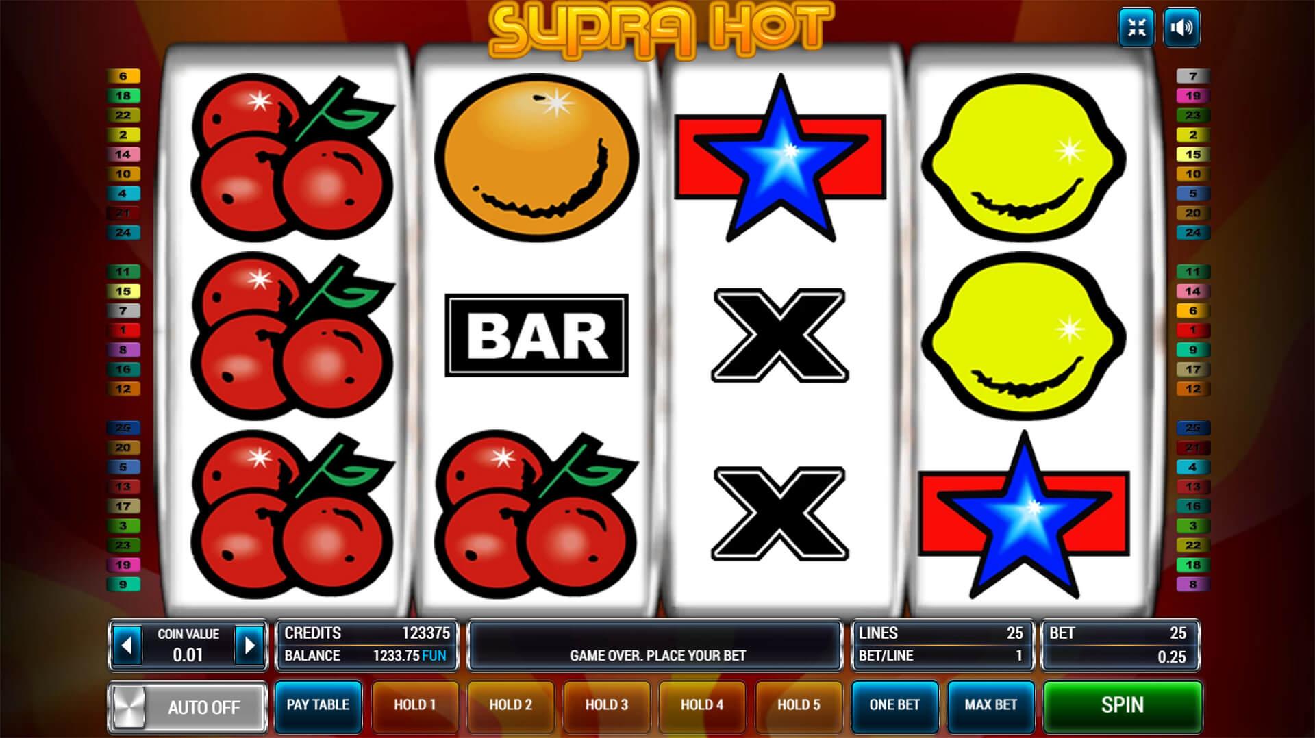 Изображение игрового автомата Supra Hot 2