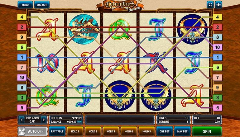 Изображение игрового автомата Columbus Deluxe 1