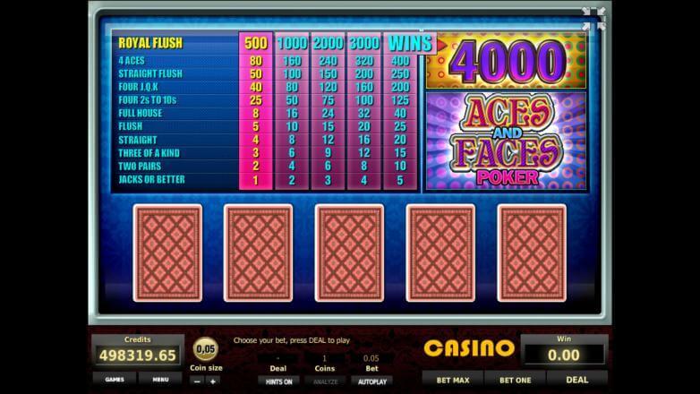 Игровые автоматы играть онлайн бесплатно три туза