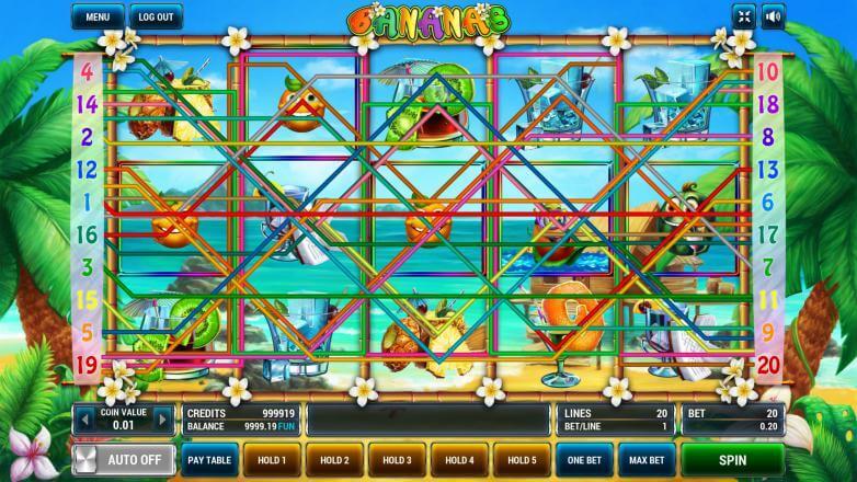 Изображение игрового автомата Bananas 1