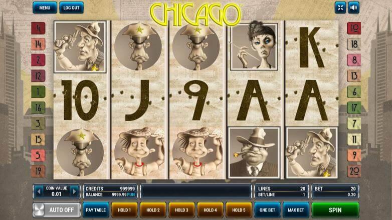 Изображение игрового автомата Chicago 2
