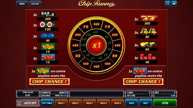 Изображение игрового автомата Chip Runner 3
