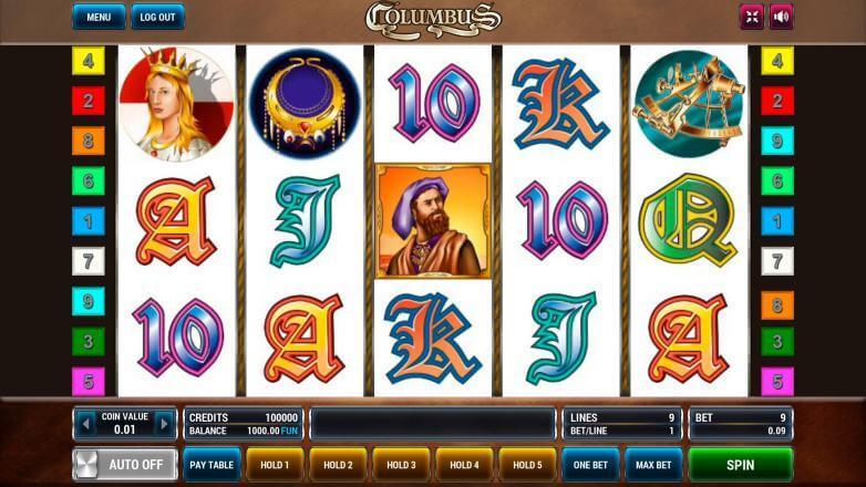 Изображение игрового автомата Columbus 2