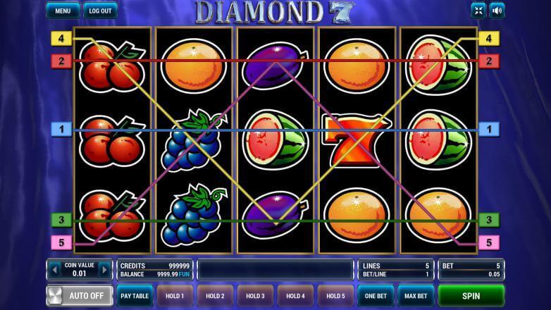 Изображение игрового автомата Diamond 7 1