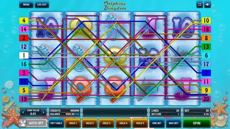 Изображение игрового автомата Dolphins Kingdom 1