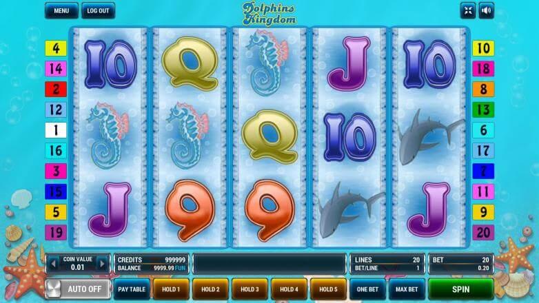 Изображение игрового автомата Dolphins Kingdom 2