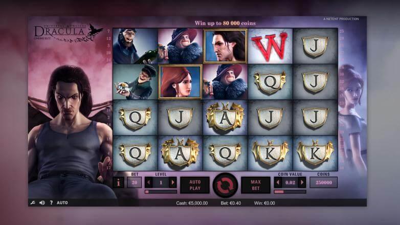 Изображение игрового автомата Dracula 1