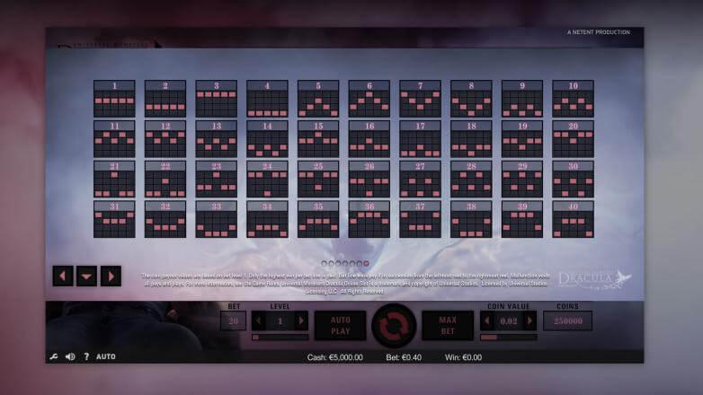 Изображение игрового автомата Dracula 3