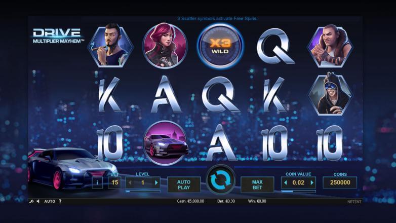 Изображение игрового автомата Drive 1