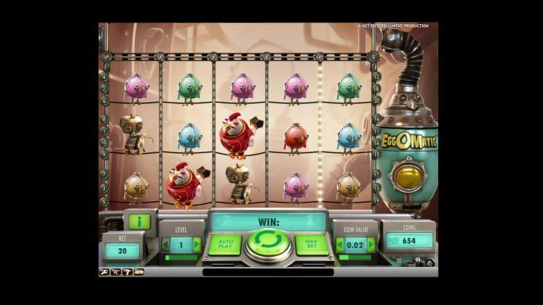 Изображение игрового автомата Eggomatic 1
