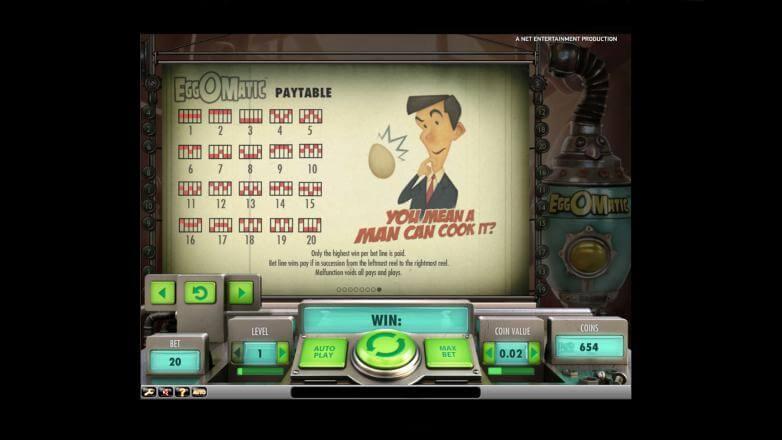 Изображение игрового автомата Eggomatic 3