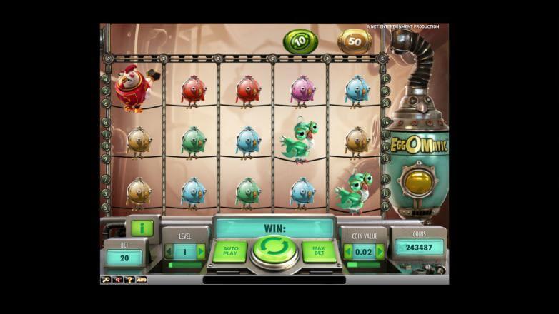 Изображение игрового автомата Eggomatic 2