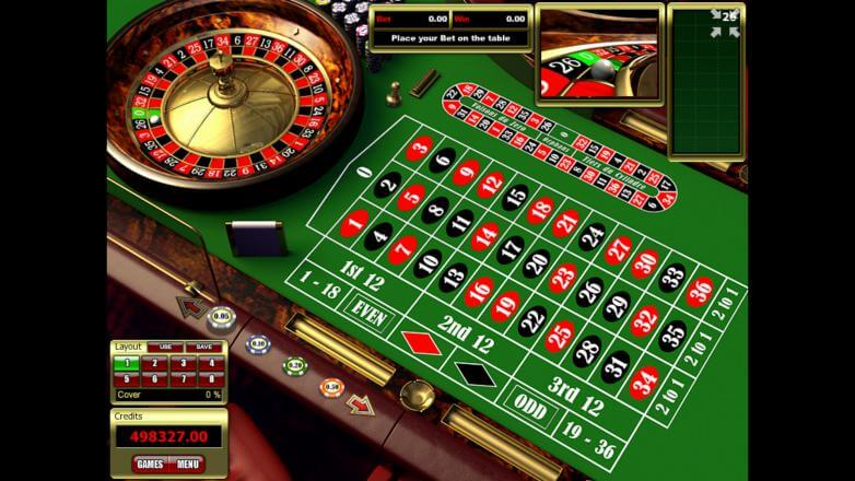 Изображение игрового автомата European Roulette 1