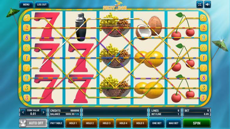 Изображение игрового автомата Fruit Bar 1