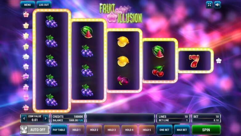 Изображение игрового автомата Fruit Illusion 2