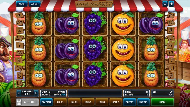 Изображение игрового автомата Fruit Market 2