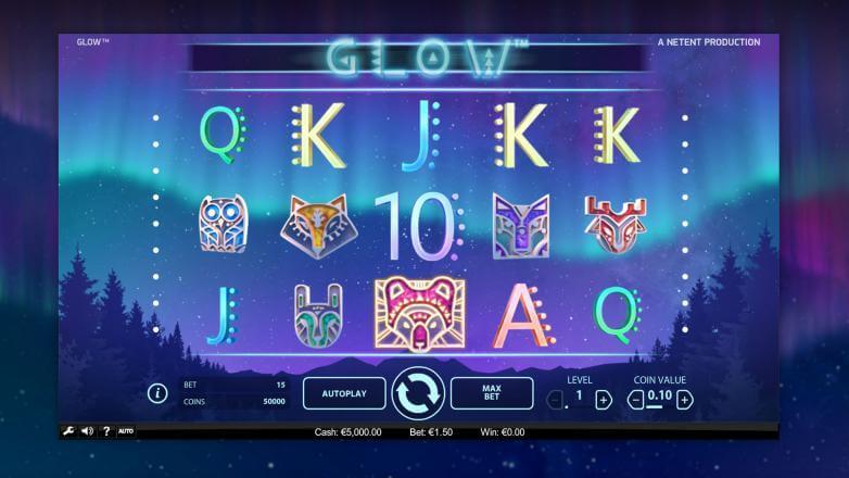 Изображение игрового автомата Glow 1