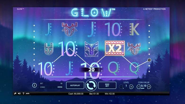 Изображение игрового автомата Glow 2
